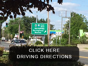 Driving directions to Ludlow Auto Sales